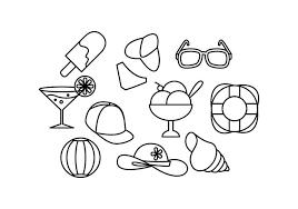 夏ライン 画像素材無料ダウンロードデザイン用背景 パターン無料