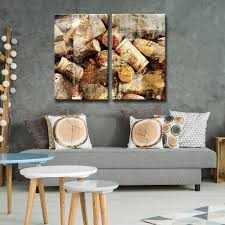 ready2hangart x27 never enough corks x27 2 piece oversized canvas on canvas wall art overstock with shop ready2hangart never enough corks 2 piece oversized canvas