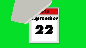 Calendar Turning Changing Animation Youtube