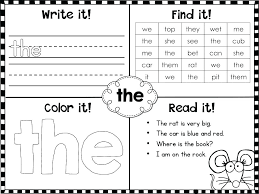 L Magic 100 Sight Words Worksheets First – tusfacturas.co