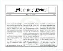 Classroom Newspaper Template Kids Newspaper Template Classroom Freebies Background Powerpoint