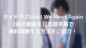 Until we meet again 日本 語 字幕