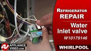 whirlpool refrigerator water inlet valve troubleshooting. Whirlpool Refrigerator Water Inlet Valve Repair Diagnostic On Troubleshooting