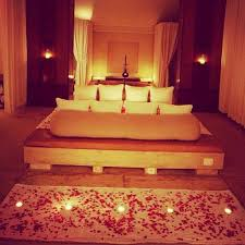 Awesome Wedding Bedroom Decoration With Flowers And Candles Design On Sofa  Decor Fresh In Bridal Wedding