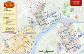 new downtown trolley routes begin may   city of knoxville