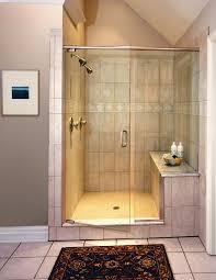 tempered glass shower door bathroom door easy cleaning