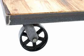 vintage industrial coffee table lovely vintage industrial trolley coffee table