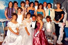electronic big clothes and even bigger hair were some of the best parts of the 1980s the 80s high prom look lives on as a pop culture