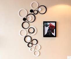 circle sculpture wall decor