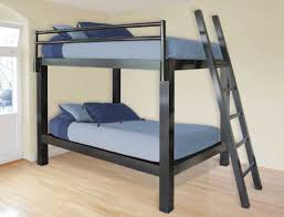 Stunning Sturdy Bunk Beds For Adults With Metal Frame Black Color Theme  Ideas