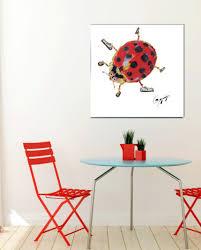 ladybug wall art by gogimogi