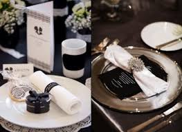 58 Elegant Black And White Wedding Table Settings