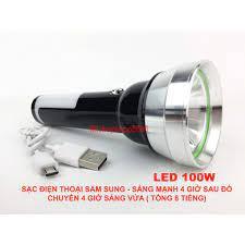 HÀNG CHUẨN) Đèn pin LED 100W siêu sáng UYXING S17 đèn pin cầm tay mini  UYXING (Chính hãng) - Đèn pin