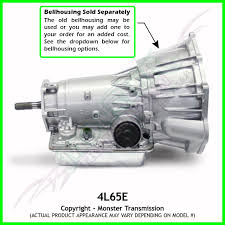 4L60E 4L65E Transmission Remanufactured 4X4 Heavy Duty 4.8 5.3 LS1 ...
