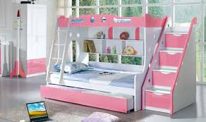 bunk bed with stairs for girls. Girl Bunk Beds With Stairs - 1 Bed For Girls O