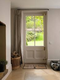 front door curtains. 4 Uses For Drapes Other Than Windows · Front Doors Door Curtains N