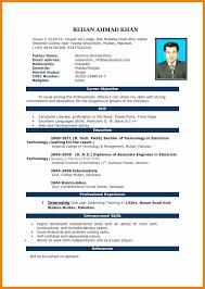 Cv Format Pdf Or Word Full Resume Format Download Template Free Jpg
