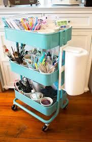 IKEA Raskog to organize painting stuff