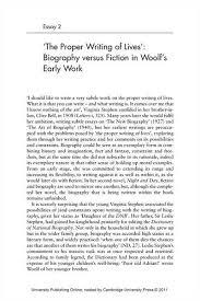 sample biography essay co sample biography essay