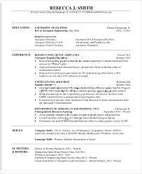 Aerospace Engineer Sample Resume Mesmerizing Aerospace Engineering Resume Do 44 Things