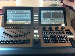 gio 12k lighting console