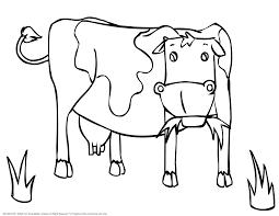Coloriages Coloriage Vache L Duilawyerlosangeles Coloriages Coloriage Vache L