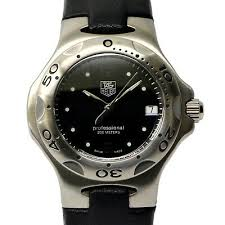 Tag Heuer Battery Chart Authentic Tag Heuer Kirium Date 200m Wrist Watch Ladies Quartz Battery Black Ebay