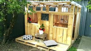 playhouse plans diy pallet outdoor indoor free pirate ship
