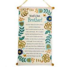 world s best brother scroll
