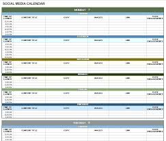 Editorial Calendar Template Awesome Marketing Template For