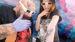 можно ли сделать 3d тату татуировки в 3d бомба или дичь