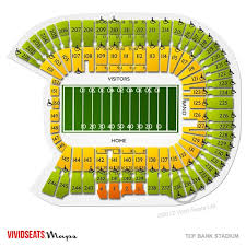 Minneapolis Us Bank Stadium Seating Chart Tcf Bank Stadium Seating Chart