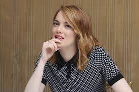 Emma Stone Irrational Man Press Conference in Beverly Hills.