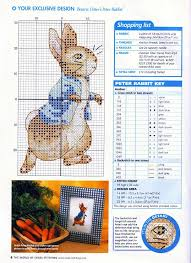 Peter Rabbit Baby Cross Stitch Patterns Cross