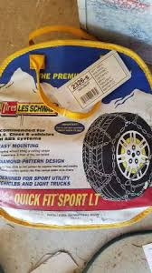 Les Schwab Payment Chart Les Schwab Quick Fit Diamond Tire Chains 40 Kirkland