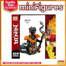 Xếp hình migfigure Ninjago Season 11 - Đồ Chơi Lắp Ghép Sáng Tạo - PRCK  GA123-GA130 chính hãng 20,000đ