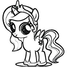 Mlp Coloring Pages Princess Celestia Free Coloring Library