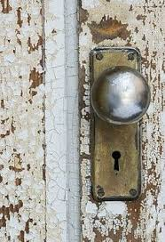 old skeleton key lock but the door is just as important
