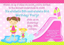 Girl Party Invitation Templates Free Surprising Birthday Party