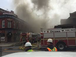 Byward Market Fire Started By Accident On Restaurant Roof