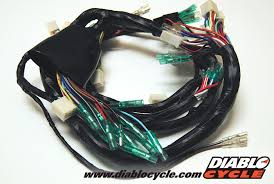 diablo cycle • parts by model • kawasaki fours z1 kz diablo cycle • parts by model • kawasaki fours z1 kz gpz electrical kawasaki z1r main wiring harness us model