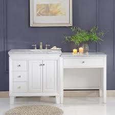 double vanity with makeup area. 68 Inch Wide Sink On Right 103 Double Vanity Left And Double Vanity With Makeup Area