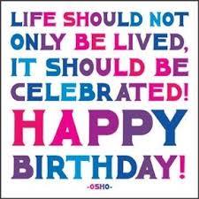 Birthday Celebration Quotes