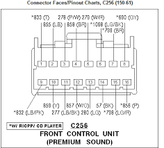 i need the wiring diagram for a ford explorer radio graphic