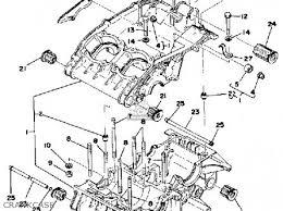 yamaha rd400 1978 usa parts lists and schematics crankcase