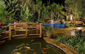 backyards design.  Design Arched Japanesestyle Bridges Look Great Even In Contemporary Backyards  Design Redwood Garden To Backyards Design