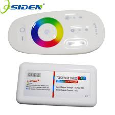 oside rgb rgbw controller wall mounted led controller touch pannel 12v24v 18a wireless 2 4g remote led rgb strip bulb downlight