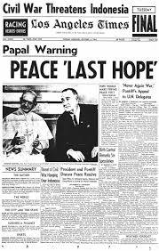 Image result for 1965 Paul VI visit usa