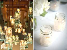 Decorated Jars For Weddings mason jars centerpieces ideas charlieshandles 23