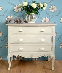 Shabby Chic Cream Bedroom Furniture Shabby Chic Country 3 Drawer Chest Bedroom Furniture Direct